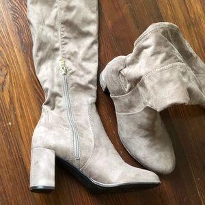 Liz Claiborne Shoes - Over the Knee Boots